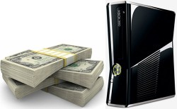 Xbox-360-S-Pile-Of-Money