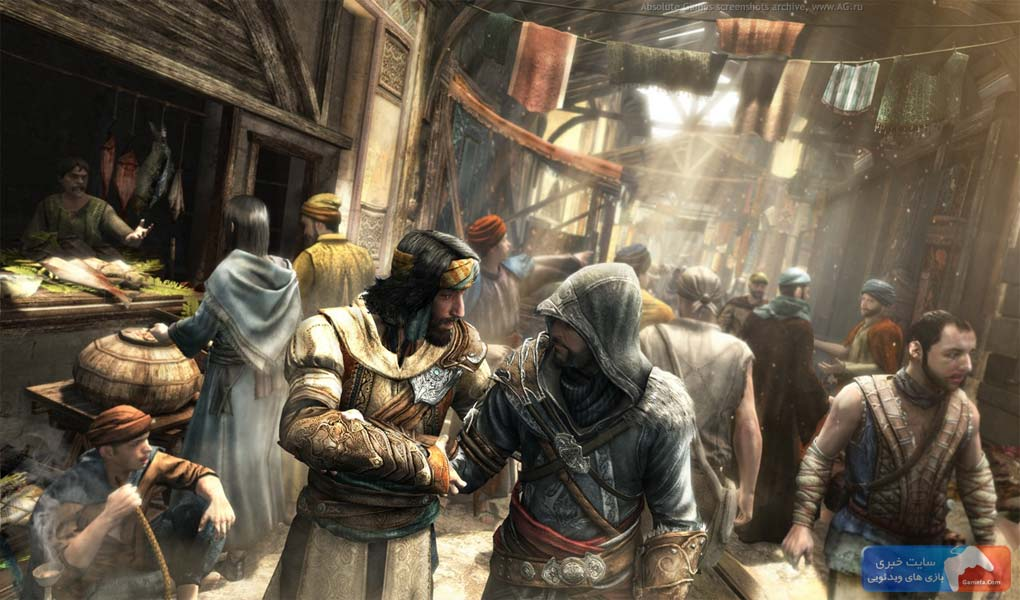 Assassins creed revelations 1 جدیدترین تصاویر از «Assassins Creed: Revelations»