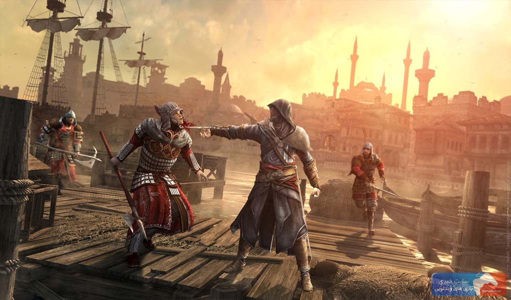 Assassins creed revelations 2 جدیدترین تصاویر از Assassins Creed: Revelations