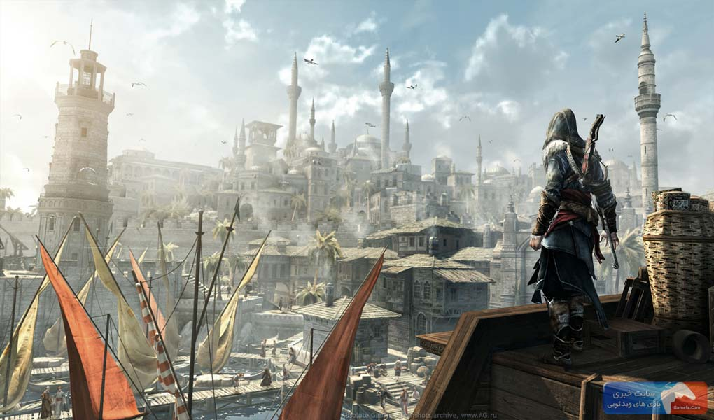 Assassins creed revelations 7 جدیدترین تصاویر از «Assassins Creed: Revelations»
