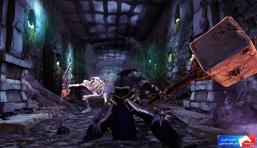 Darksiders 25 انتشار اولین تصاویر از Darksiders II