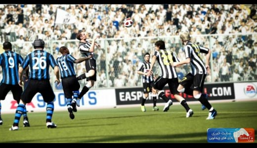 FIFA 12 2 جدیدترین تصاویر از FIFA 12