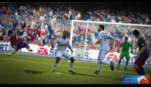 FIFA 12 messi جدیدترین تصاویر از FIFA 12