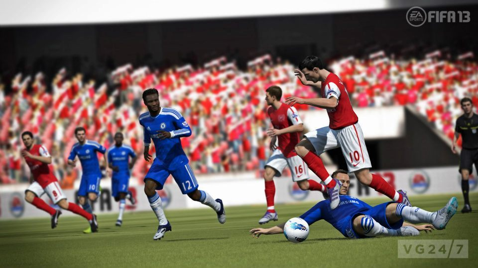EA: واقعیترین فوتبال ممکن در FIFA 13!