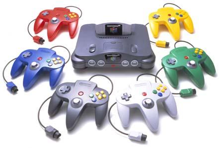 Nintendo64 تاریخچه ی بازی های رایانه ای