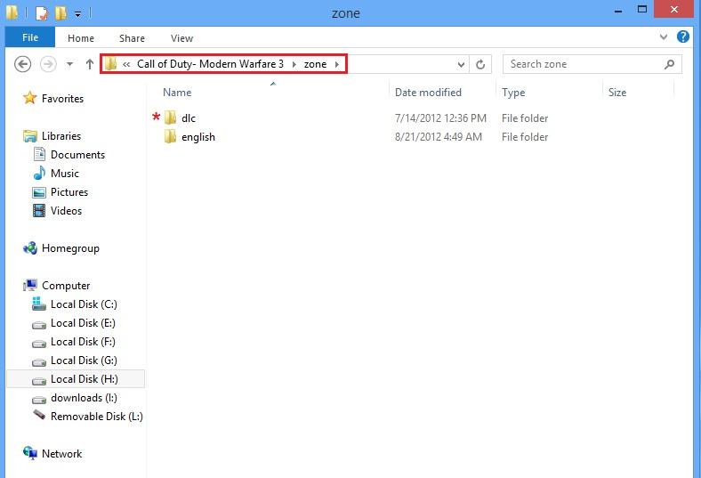 2 masire copy2 آموزش کامل و تصویری آنلاین بازی کردن CoD MW3 و  (DLC 3ساپورت شد+ لینک DLC4 با چهار مپ جدید)