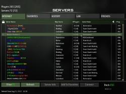 5 servers 250x187 آموزش کامل و تصویری آنلاین بازی کردن CoD MW3 و  (DLC 3ساپورت شد+ لینک DLC4 با چهار مپ جدید)