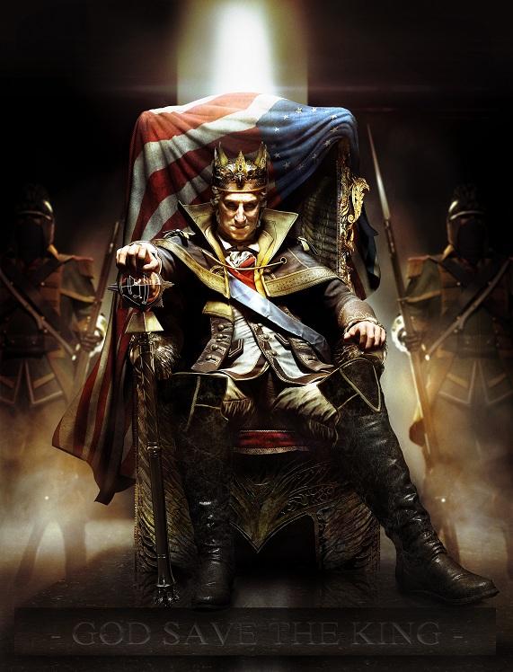 ACIII DLC KingGeorgeWashington3 یوبیسافت DLC بازی ASSASSINS CREED III را با نام George Washington is King تایید کرد