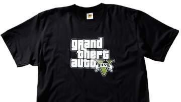 gta v t shirt gta v logo لباس های جدید بازی GTA V در راه است