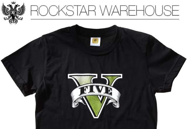 gta v t shirt v logo لباس های جدید بازی GTA V در راه است