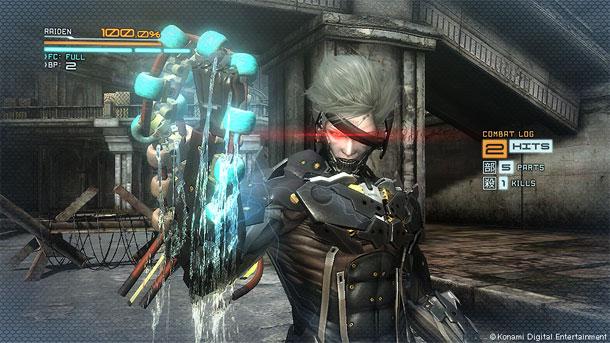 url نینجای متفاوت | پیش نمایش Metal Gear Rising: Revengeance