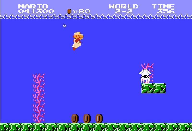 مرحله زیر آب روزی روزگاری ماریو !