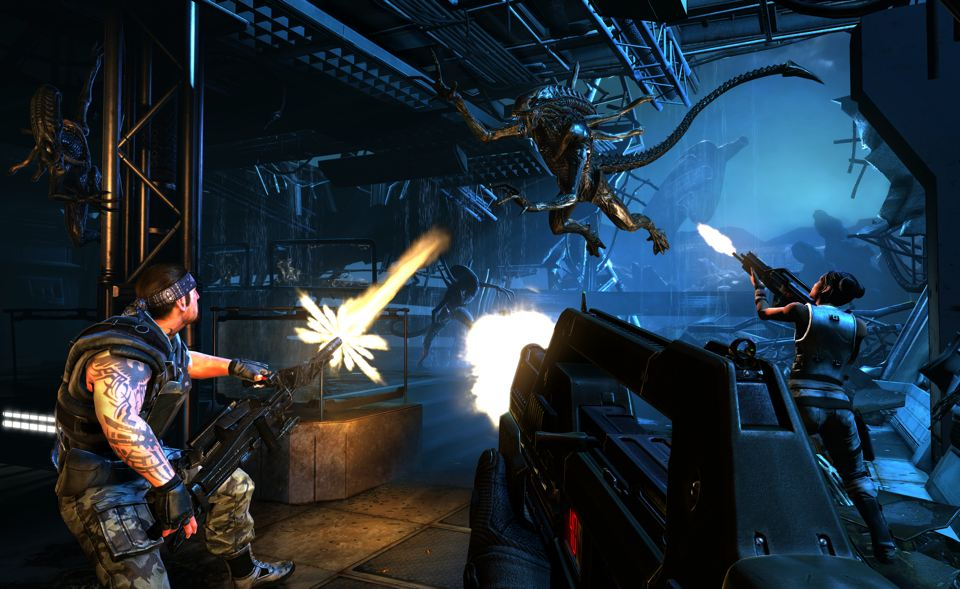 AliensColonialMarines11 - بازی اورجینال ALIENS COLONIAL MARINES ایکس باکس ۳۶۰