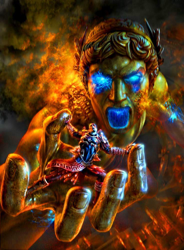 Kratos vs Colossus تاریخچه خدای جنگ | قسمت سوم: کابوس خدایان