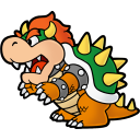 Paper Bowser icon روزی روزگاری ماریو !
