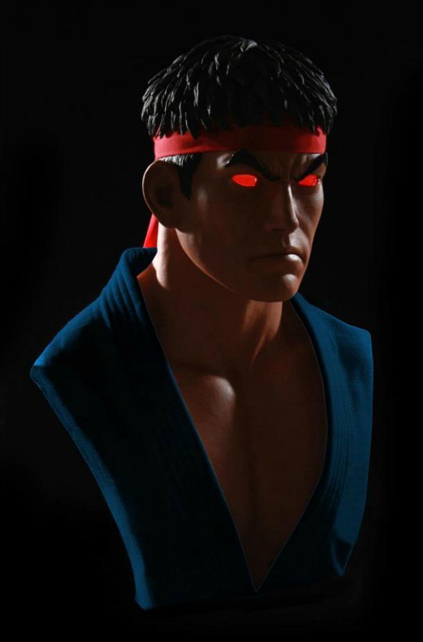 evilryu1 تندیس Ryu شیطانی قیمت گذاری شد