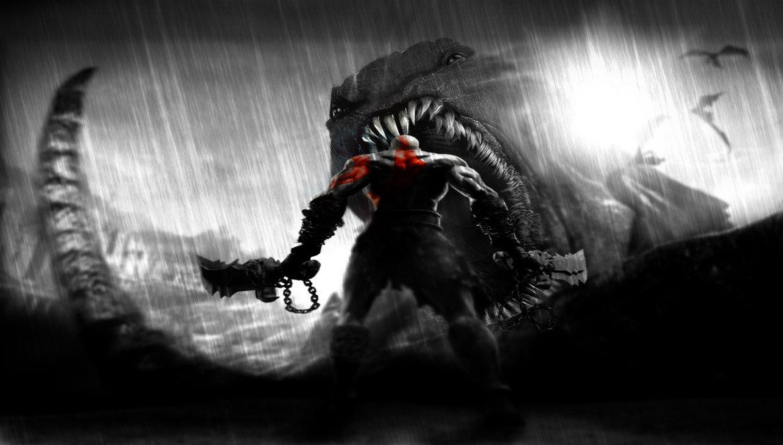 kratos by trav3l3r d3xyvko تاریخچه خدای جنگ | قسمت سوم: کابوس خدایان
