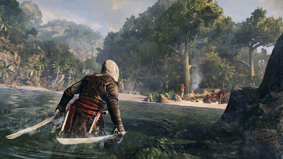 assassins creed 4 black flag screen 2 تصاویر جدید از Assassins Creed IV: Black Flag منتشر شد|خشونت های وحشیانه Edward Kenway