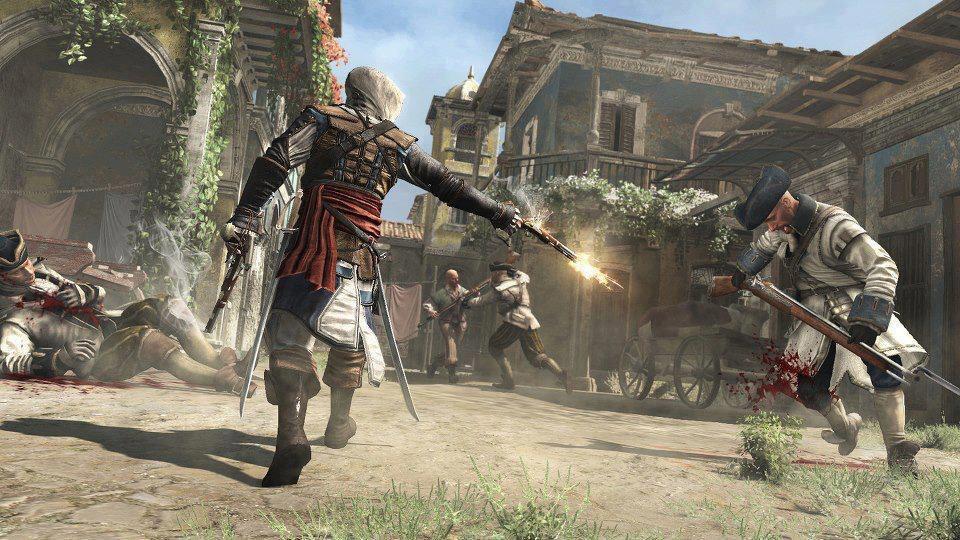 assassins creed 4 black flag screen 3 تصاویر جدید از Assassins Creed IV: Black Flag منتشر شد|خشونت های وحشیانه Edward Kenway