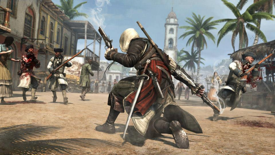 assassins creed IV black flag screen 2 اولین تصاویر بازی Assassins Creed IV: Black Flag منتشر شد