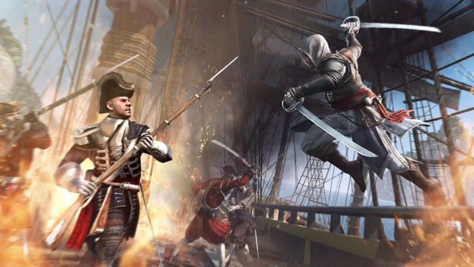 assassins creed IV black flag screen 3 اولین تصاویر بازی Assassins Creed IV: Black Flag منتشر شد