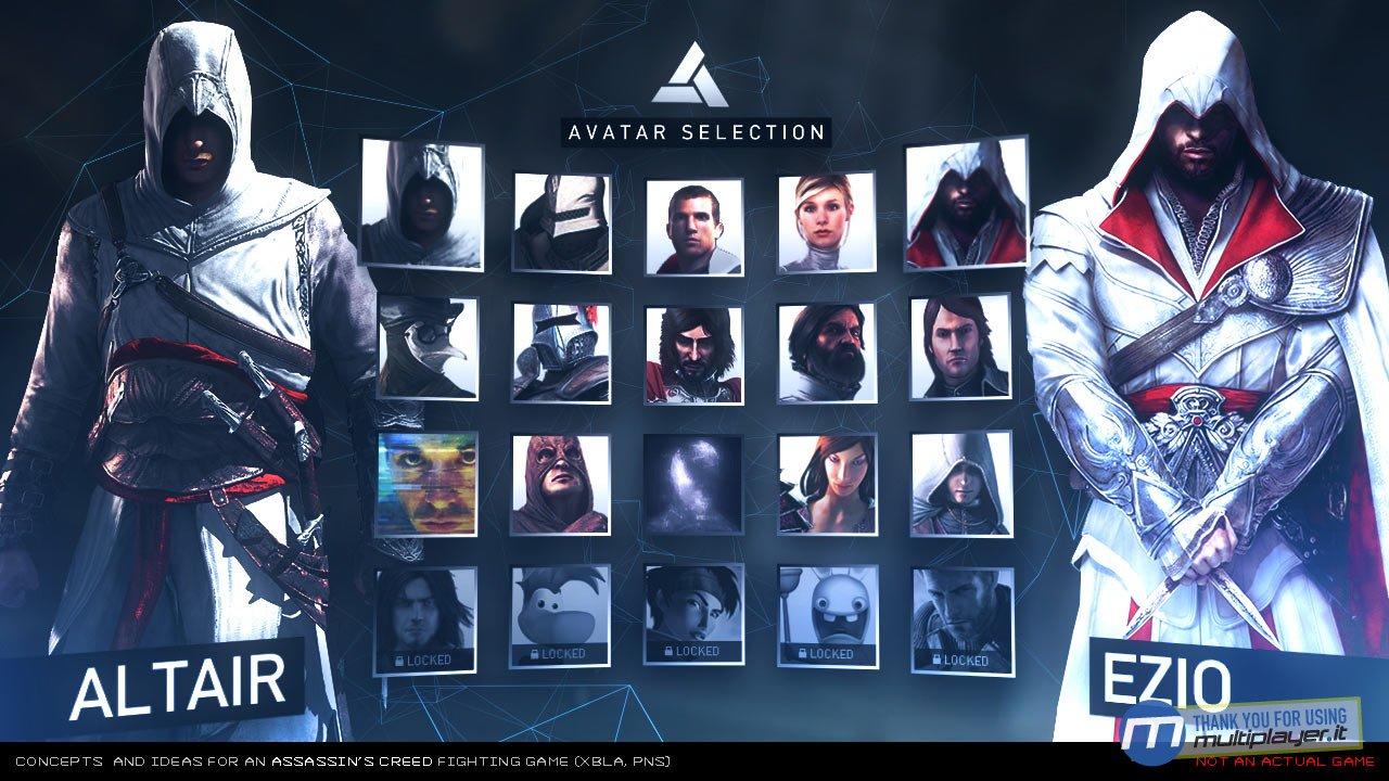 Assassins Creed Duel gamefa 1 مبارزه ی سه قاتل در رینگ ! + سه تصویر
