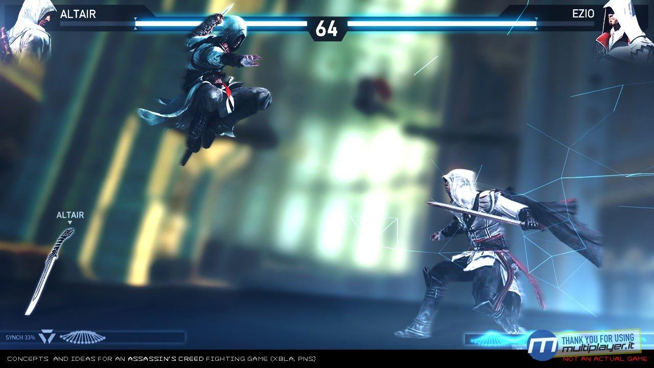 Assassins Creed Duel gamefa 3 مبارزه ی سه قاتل در رینگ ! + سه تصویر