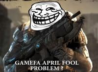 با دروغ آپریل گیمفا آشنا بشوید : شوخی با Gears Of War !