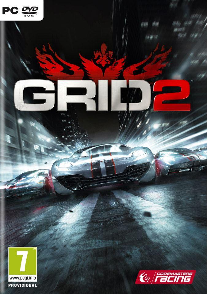 grid 2 pc box art بر مبنای سرعت | پیش نمایش Grid 2