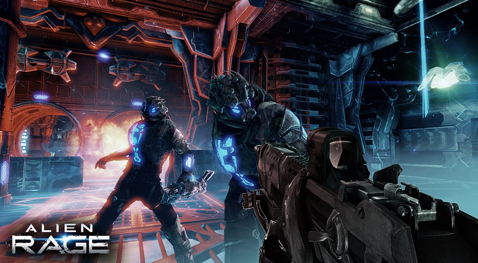 AlienRage Screen01 چند تصویر از بازی Alien Rage + اطلاعاتی جدید از بازی