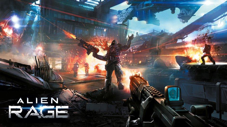 AlienRage Screen03 چند تصویر از بازی Alien Rage + اطلاعاتی جدید از بازی