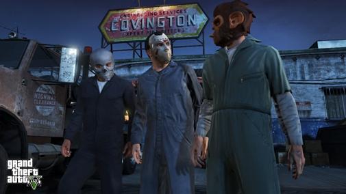 GTAV 1 12 اسکرین شات جدید از بازی Grand Theft Auto 5