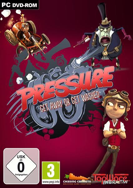 Pressure Cover دیوانه وار رو به جلو | نقد و بررسی بازی Pressure