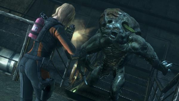 91 2 - بازی اورجینال Resident Evil Revelations پلیاستیشن ۴