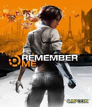 Remember Me Capcom game   cover art تلقین | نقد و بررسی بازی Remember Me