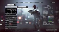 battlefield 4 menu options 9 250x138 بتلفیلد 4 : شخصی سازی اسلحه ها و سرباز ها + تصاویر