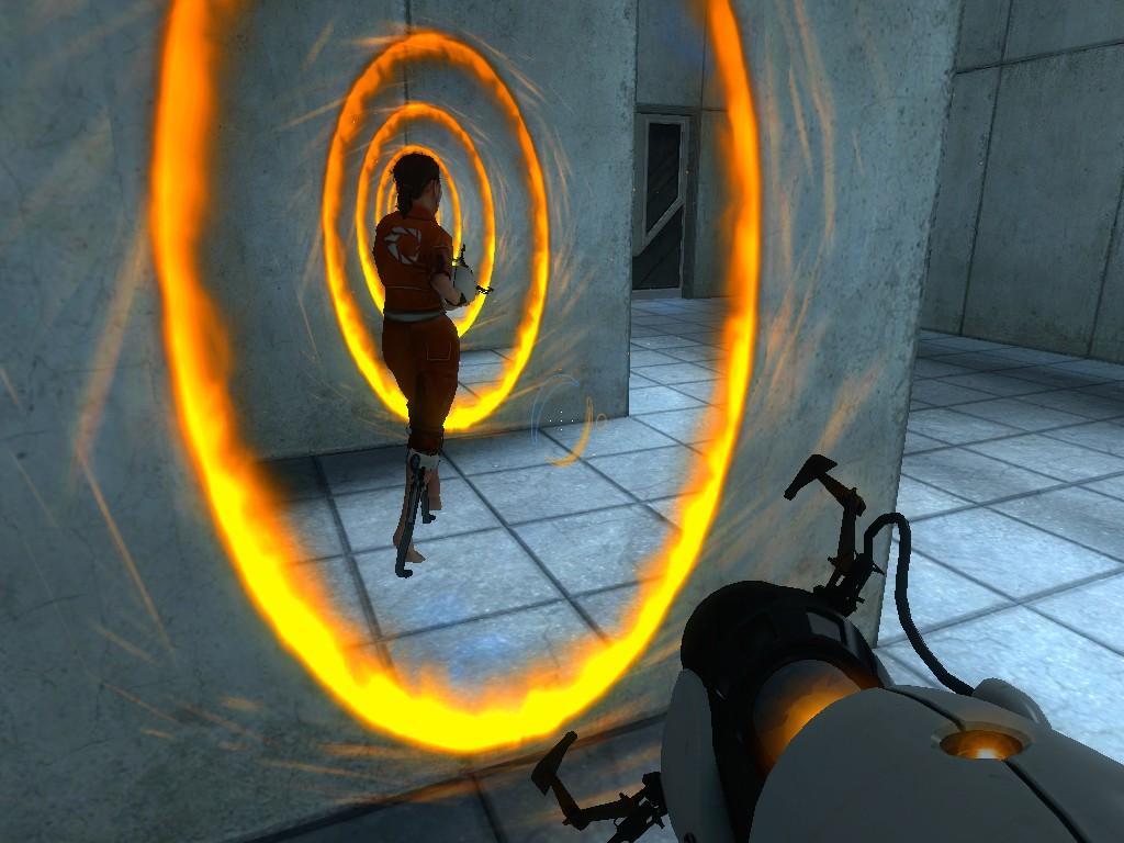 portal 2 portals سخنهای ماندگار در بازی های رایانه ای