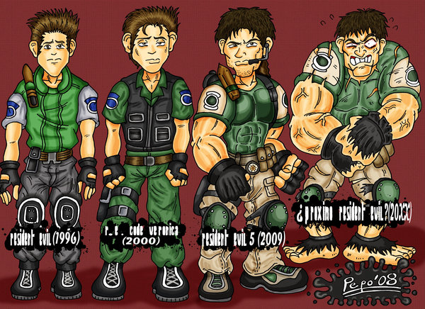 Chris_Redfield_evolution_by_devilpepo.jp