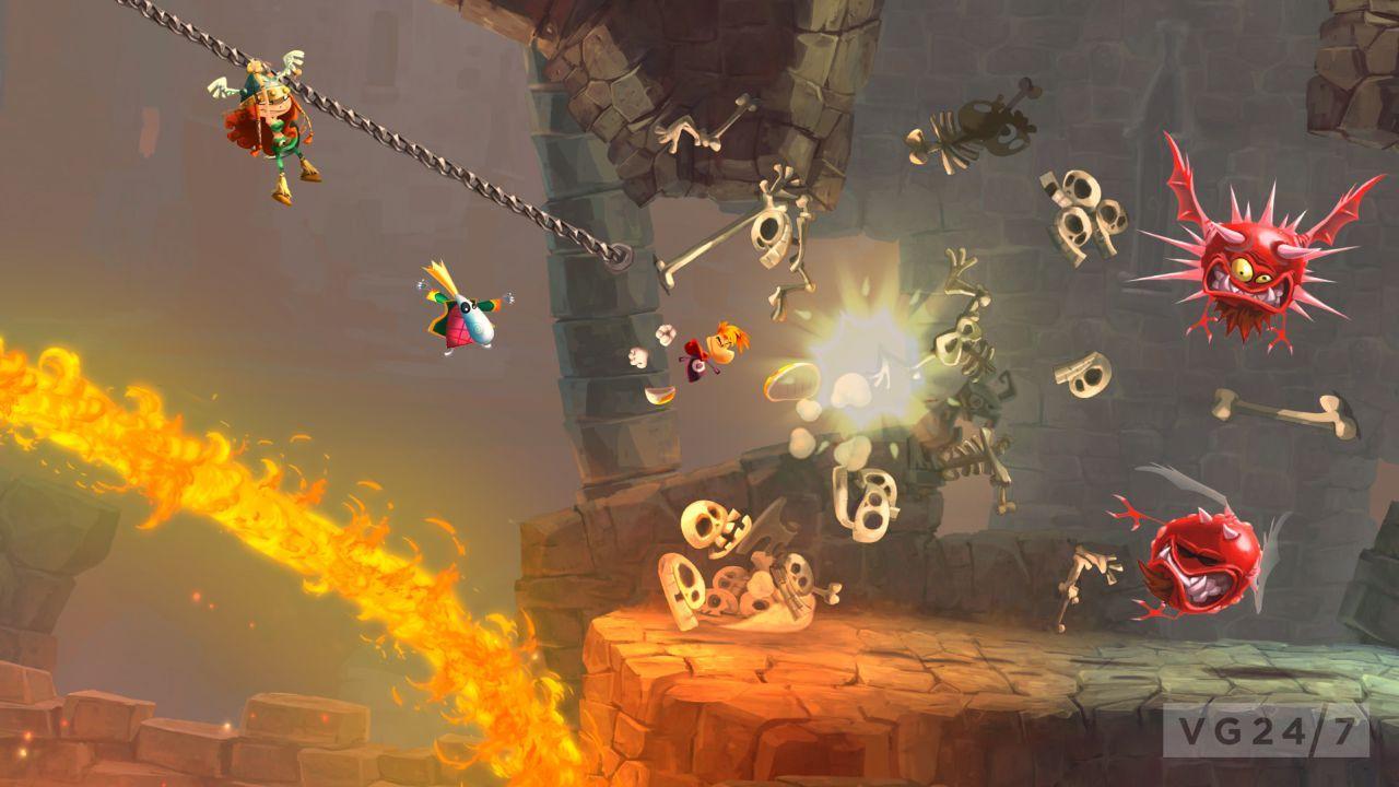 بازی Rayman Legends برای PC نیز میاید | یوروگیمر