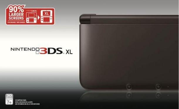 blackxl610 رنگ مشکی 3DS XL به زودی عرضه می شود