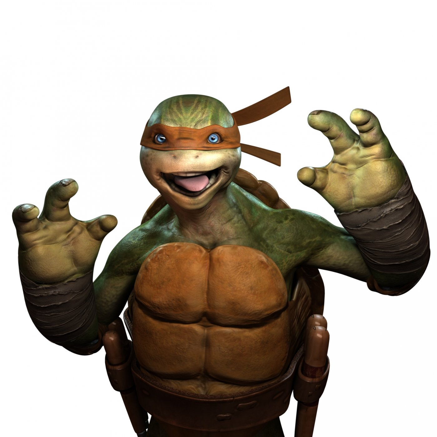 mike portrait jpg 1400x0 q85 لاکپشت ها در برابر نینجاها | پیش نمایش بازی TMNT: Out of the Shadows
