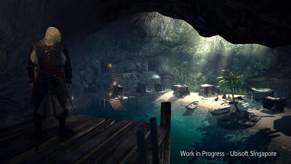 ac4 art 10 چند تصویر هنری زیبا از Assassin's Creed 4 منتشر شد