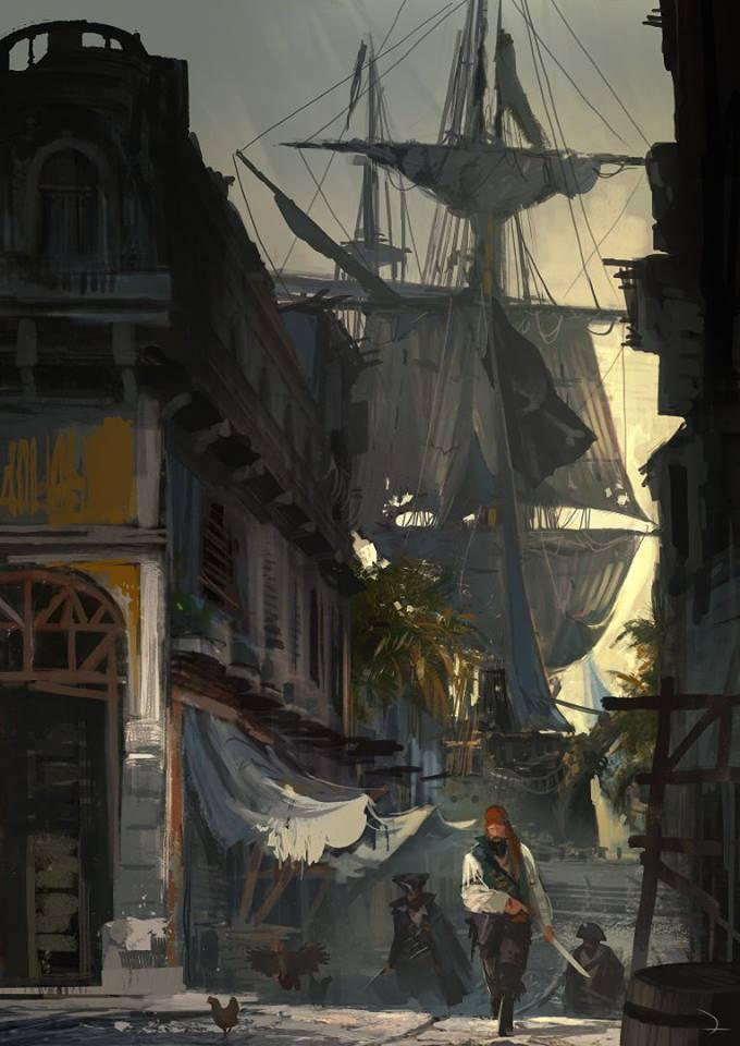 ac4 art 9 چند تصویر هنری زیبا از Assassin's Creed 4 منتشر شد