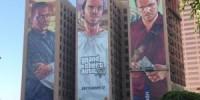 دیوارنمای تبلیغاتی GTA V بالاخره کامل شد