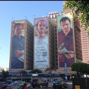 gta v murals از SoundTrack های عنوان GTA V رونمایی شد