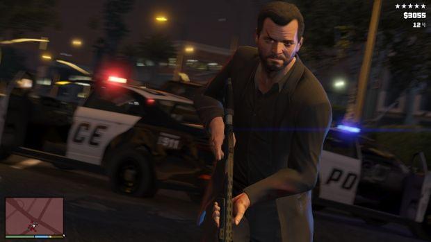 RSG GTAV Screenshot HUD 002 620x بزرگ ترین سرقت تاریخ، این بار با سه نفر   نقد و بررسی Grand Theft Auto V