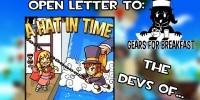 Gears for Breakfast سازنده A Hat in Time: کمپانی Nintendo به ما برای تبدیل شدن به سازنده 3rd party کمک میکند