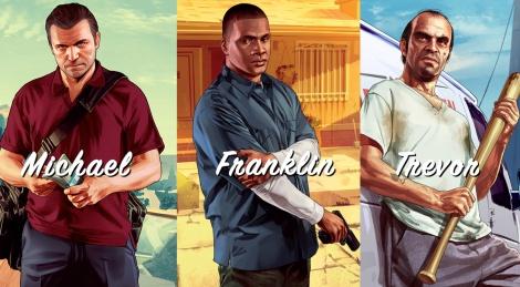 news gta v michael franklin trevor 14019 بزرگ ترین سرقت تاریخ، این بار با سه نفر   نقد و بررسی Grand Theft Auto V