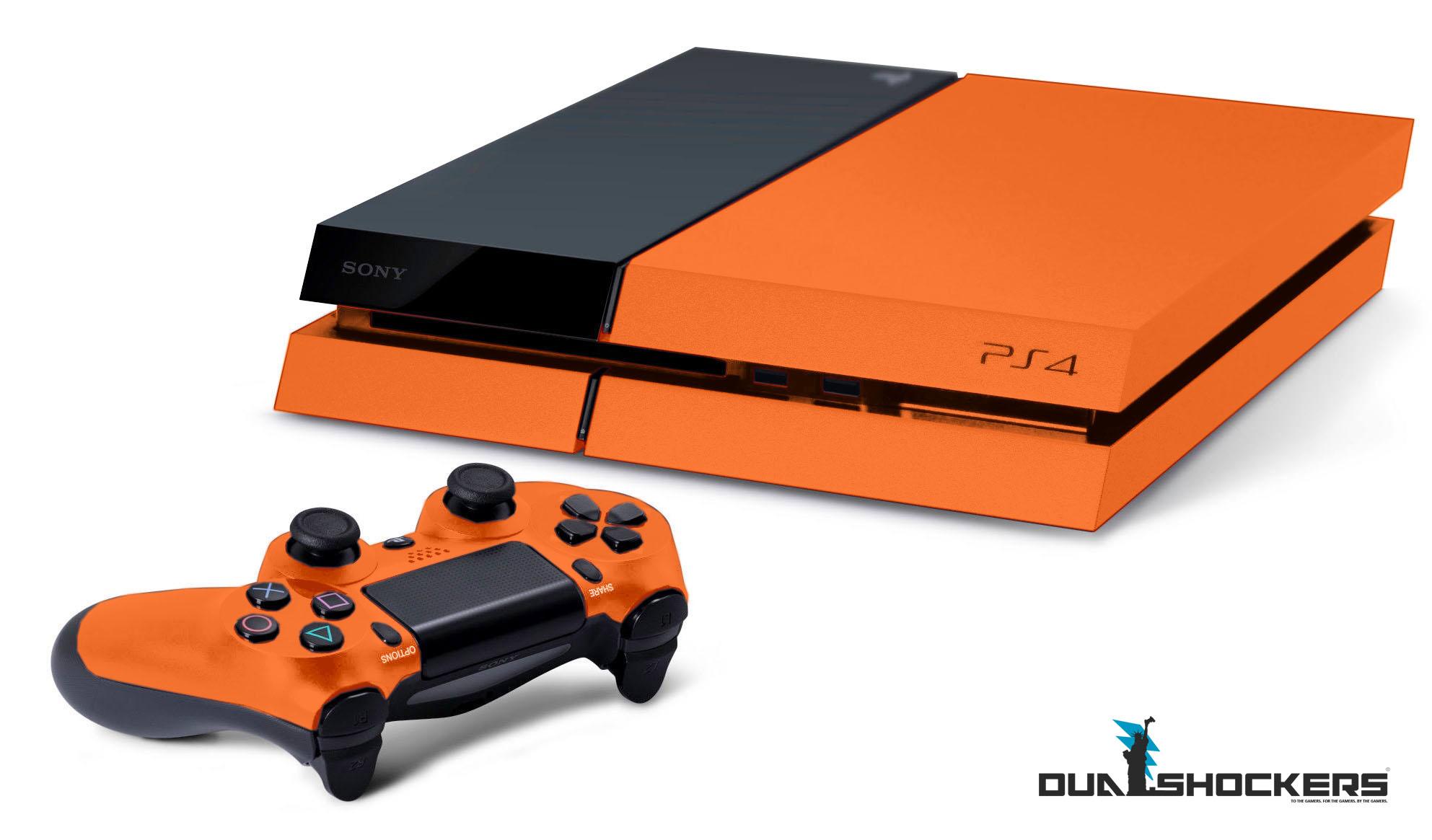 Ps4 Orange Color Variation 08