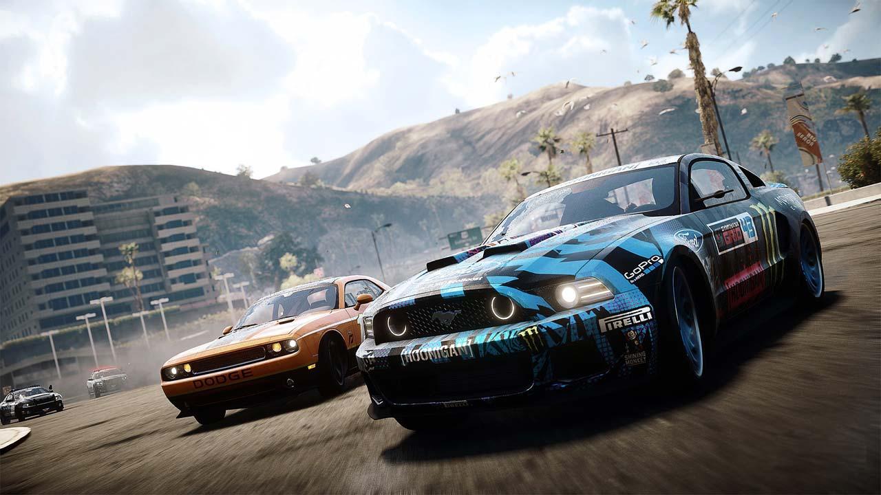 31 - بازی اورجینال Need for Speed: Rivals پلیاستیشن ۴